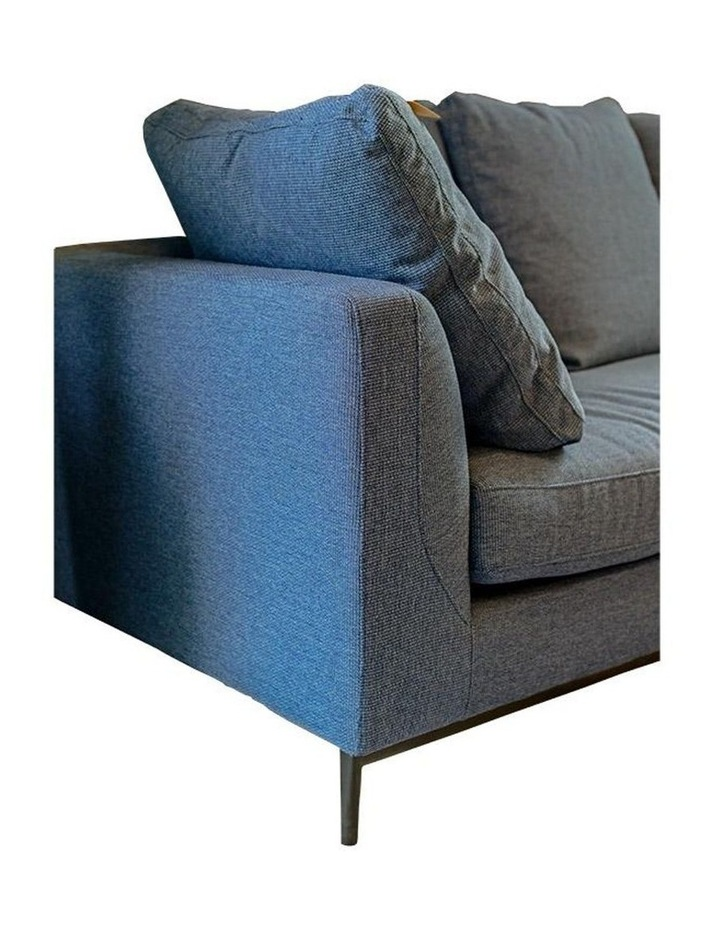 Leland 3 Seater with Right Chaise - Blue image 4