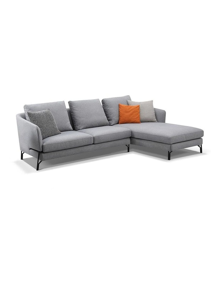 DAKOTA 3 Seater with Right Chaise - Light Grey image 1