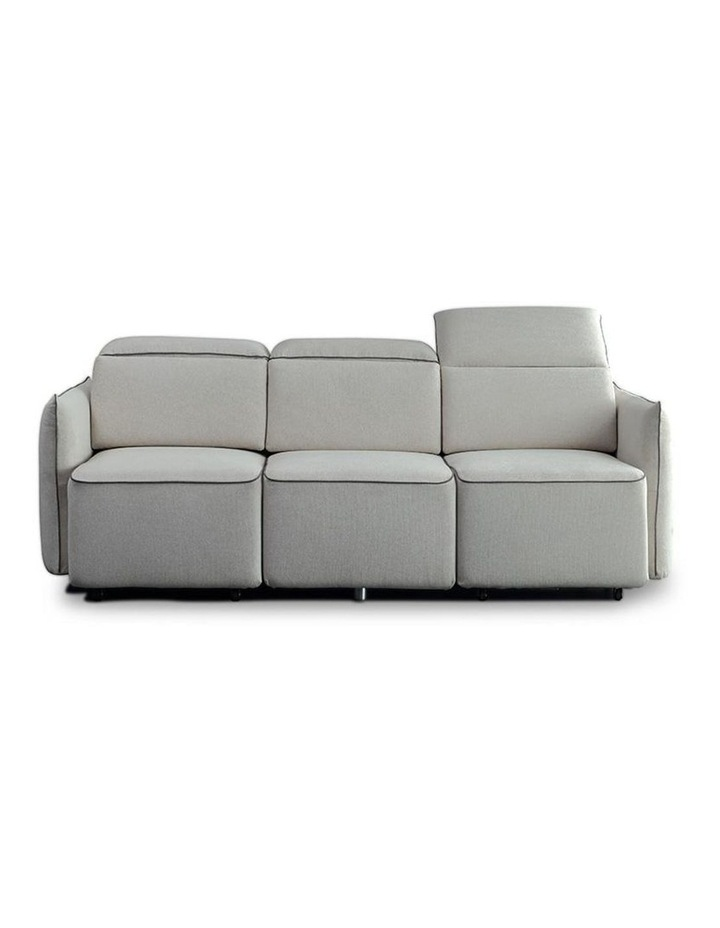 EMORY 3 Seater Sofa with Retractable Chaises - Ivory image 1