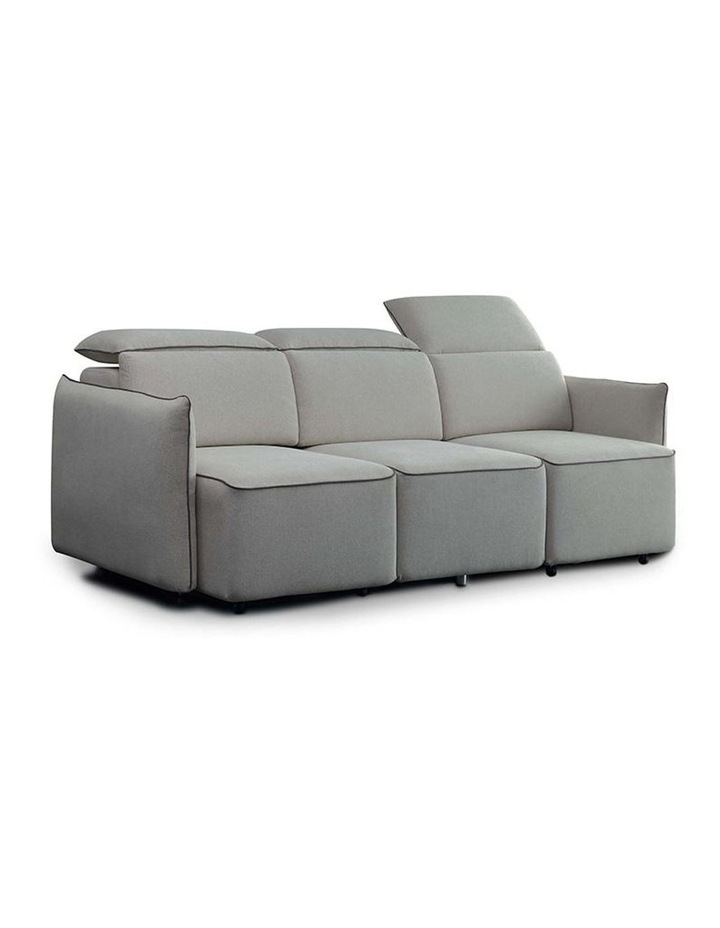 EMORY 3 Seater Sofa with Retractable Chaises - Ivory image 2
