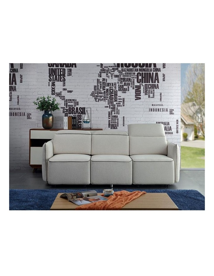 EMORY 3 Seater Sofa with Retractable Chaises - Ivory image 5