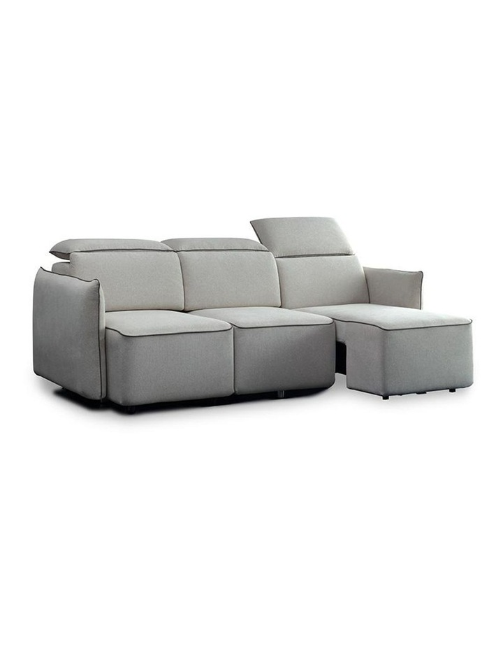 EMORY 3 Seater Sofa with Retractable Chaises - Ivory image 6