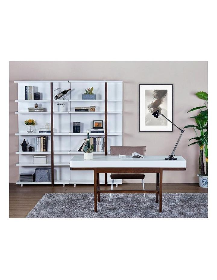 Nelo Computer Desk/Console  - 166cm - White High Gloss image 2