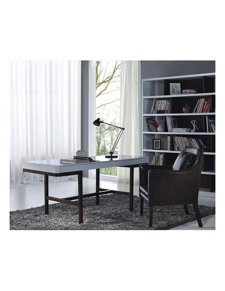 Nelo Computer Desk/Console  - 166cm - White High Gloss image 3