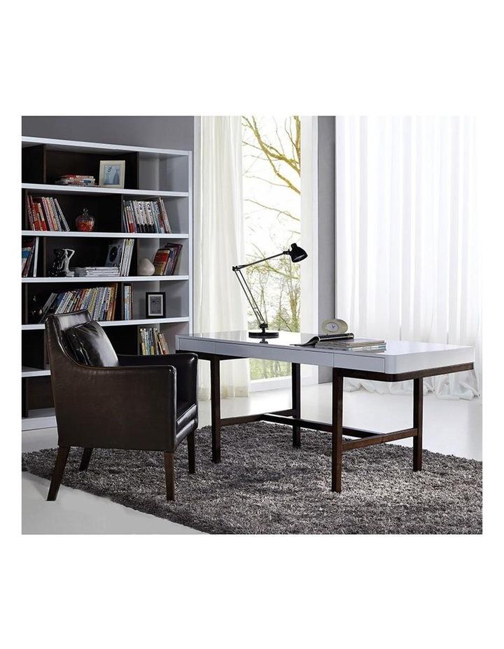 Nelo Computer Desk/Console  - 166cm - White High Gloss image 4