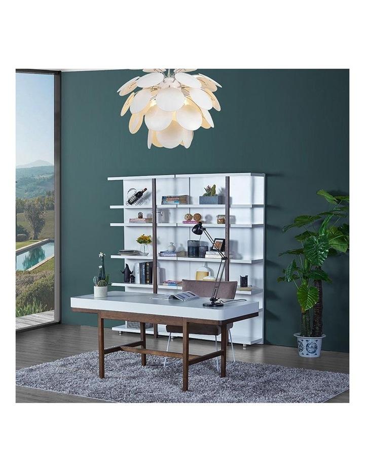 Nelo Computer Desk/Console  - 166cm - White High Gloss image 5