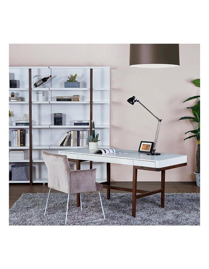 Nelo Computer Desk/Console  - 166cm - White High Gloss image 6