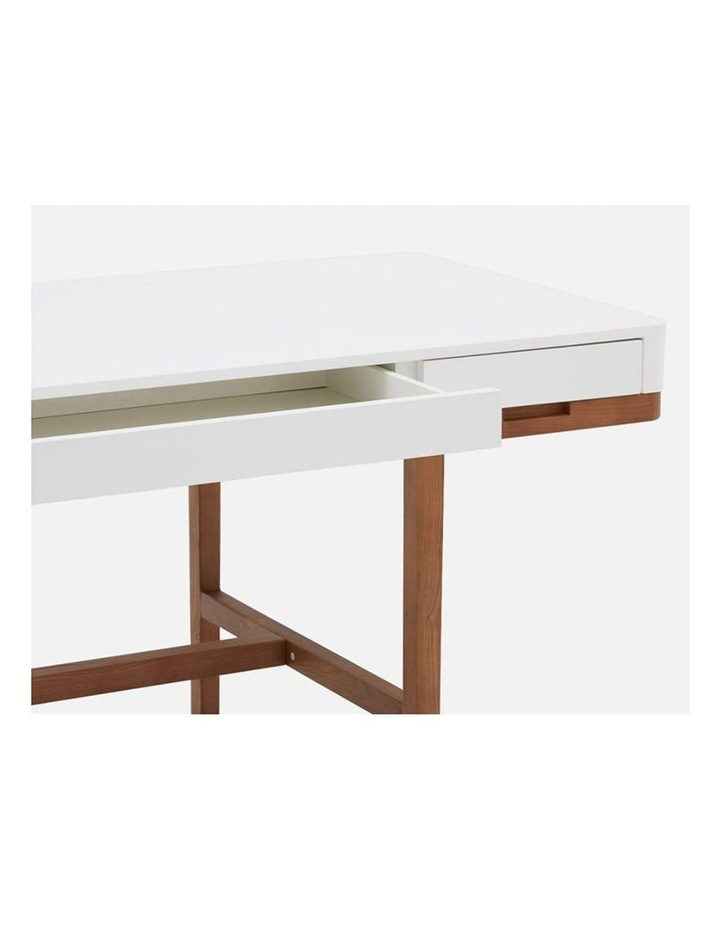 Nelo Computer Desk/Console  - 166cm - White High Gloss image 7
