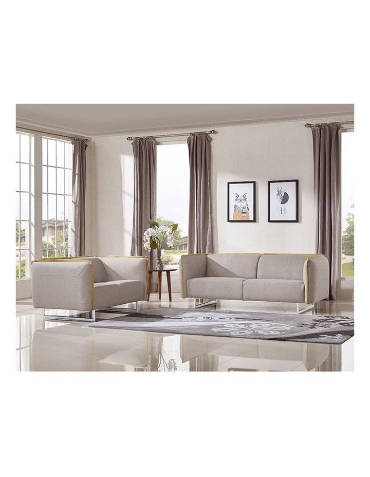 PEYTON 3 Seater Sofa - Grey (1771) image 2