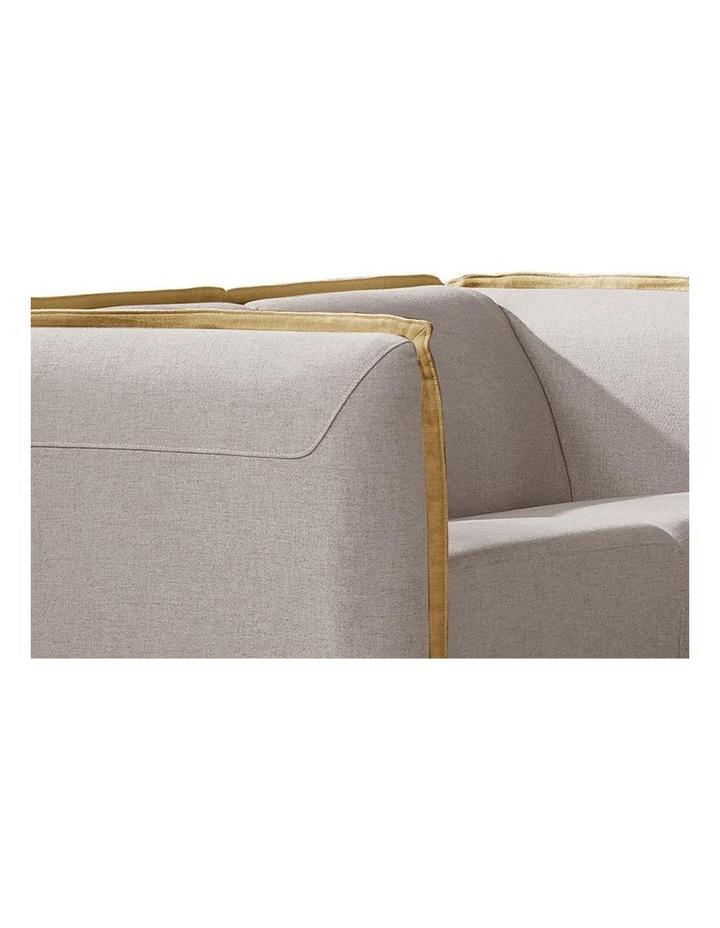 PEYTON 3 Seater Sofa - Grey (1771) image 4