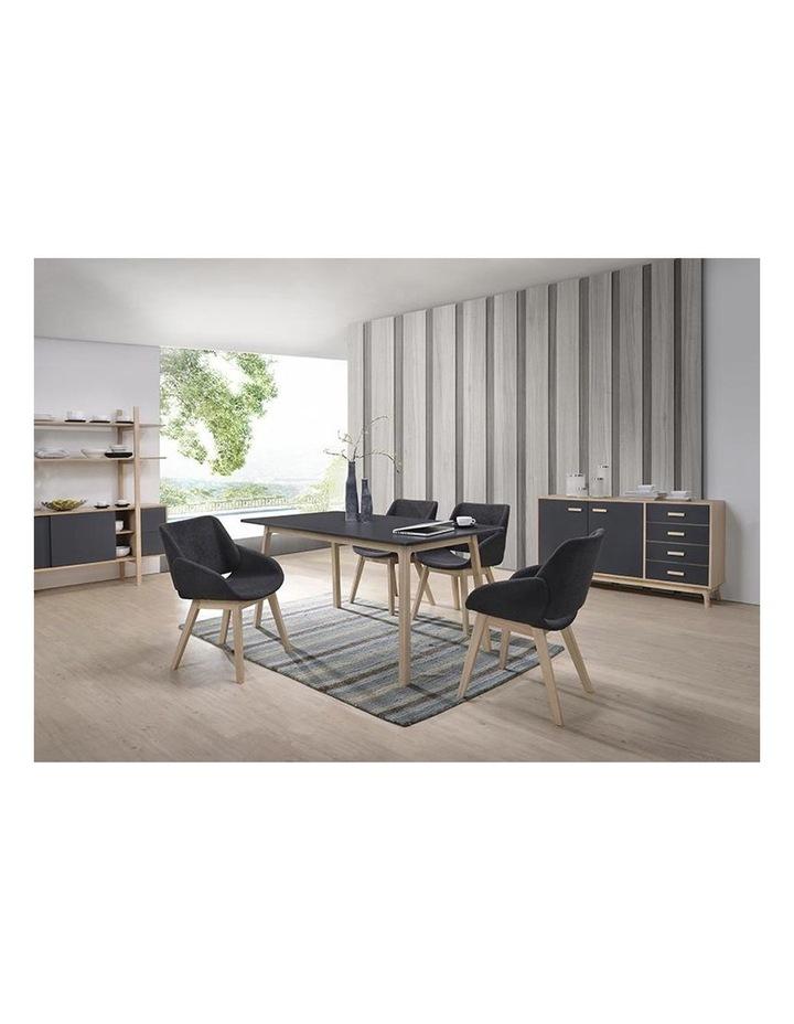 BELA Arm Chair - Charcoal image 3