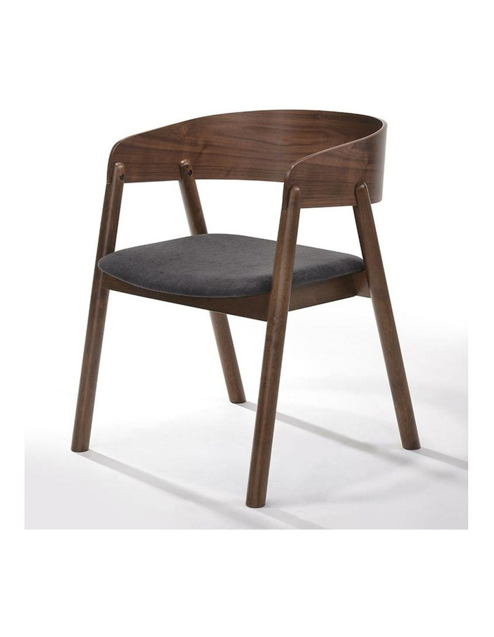 NIMA Arm Chair Dining Chair - Walnut image 2