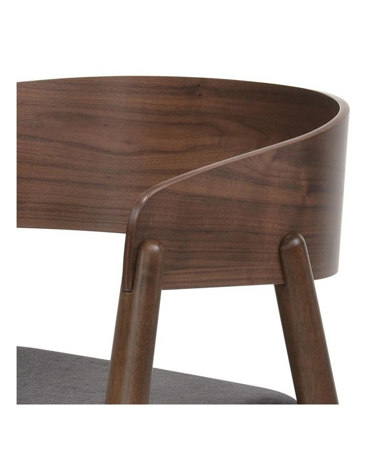 NIMA Arm Chair Dining Chair - Walnut image 4