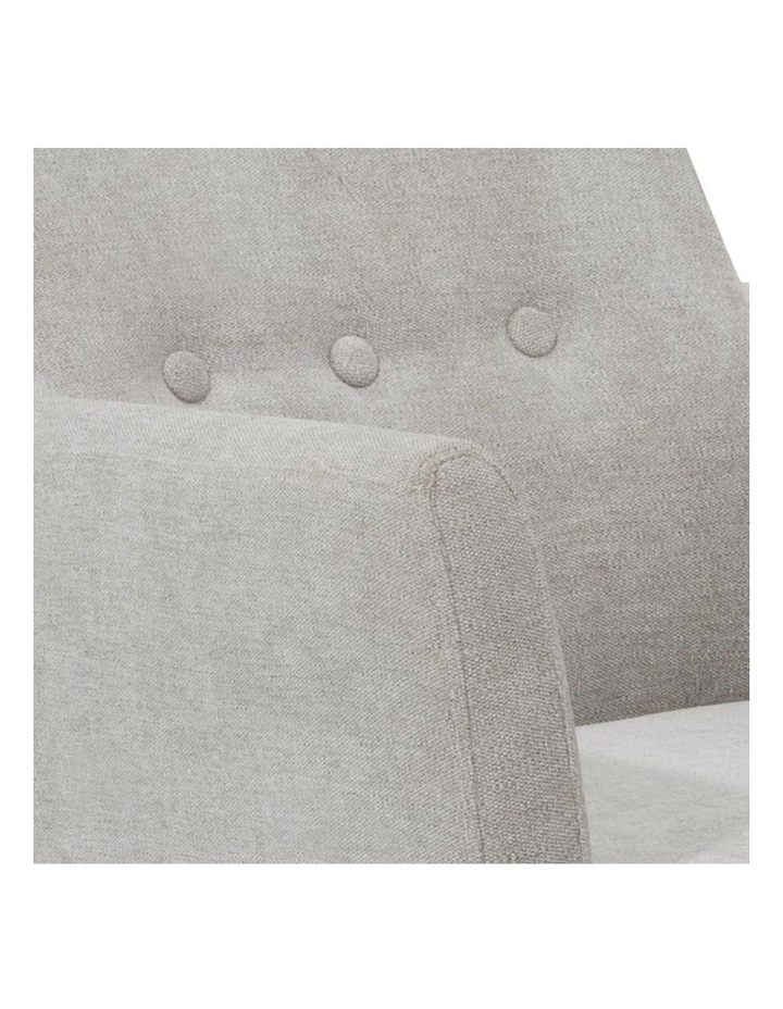 FOXTON Leisure Chair with Ottoman - Grey image 2