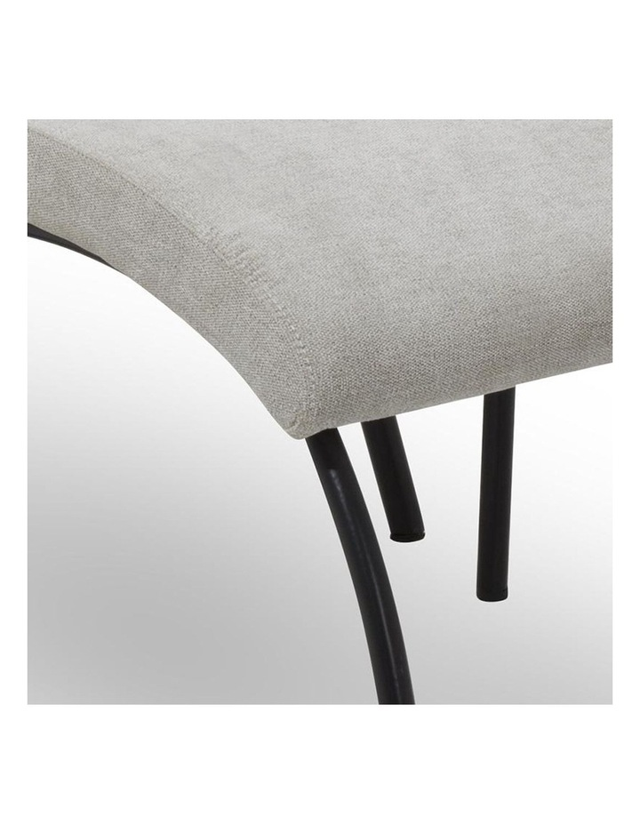 FOXTON Leisure Chair with Ottoman - Grey image 4