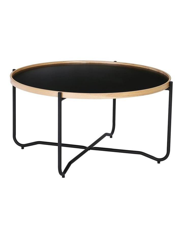 TANIX Coffee Table - Round - Black image 1