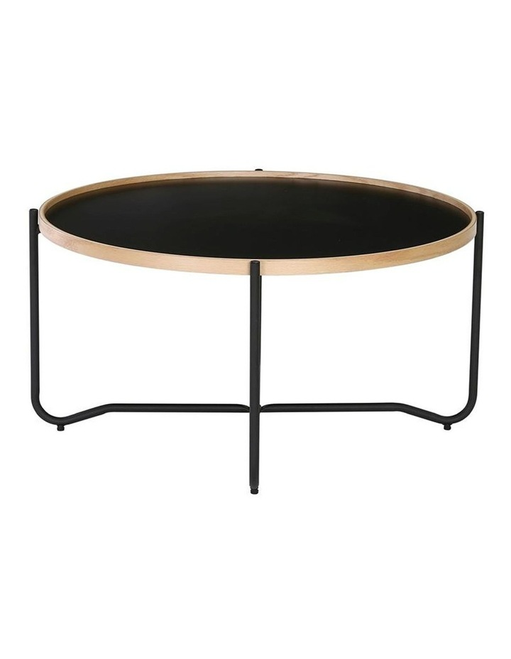 TANIX Coffee Table - Round - Black image 2