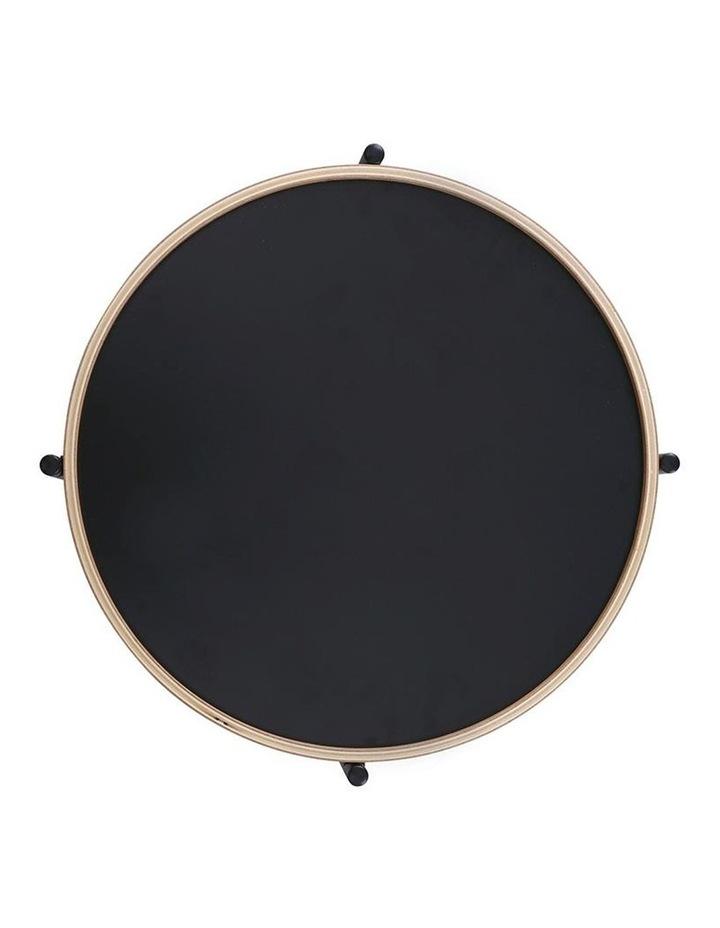 TANIX Coffee Table - Round - Black image 3