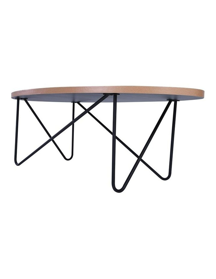 NARESH Coffee Table - Oval - Black image 4
