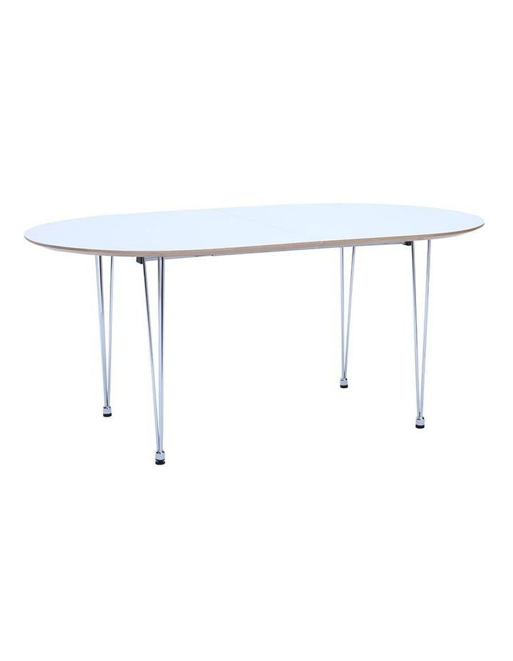 OMEO Dining Table Extendable - 170cm - White image 1