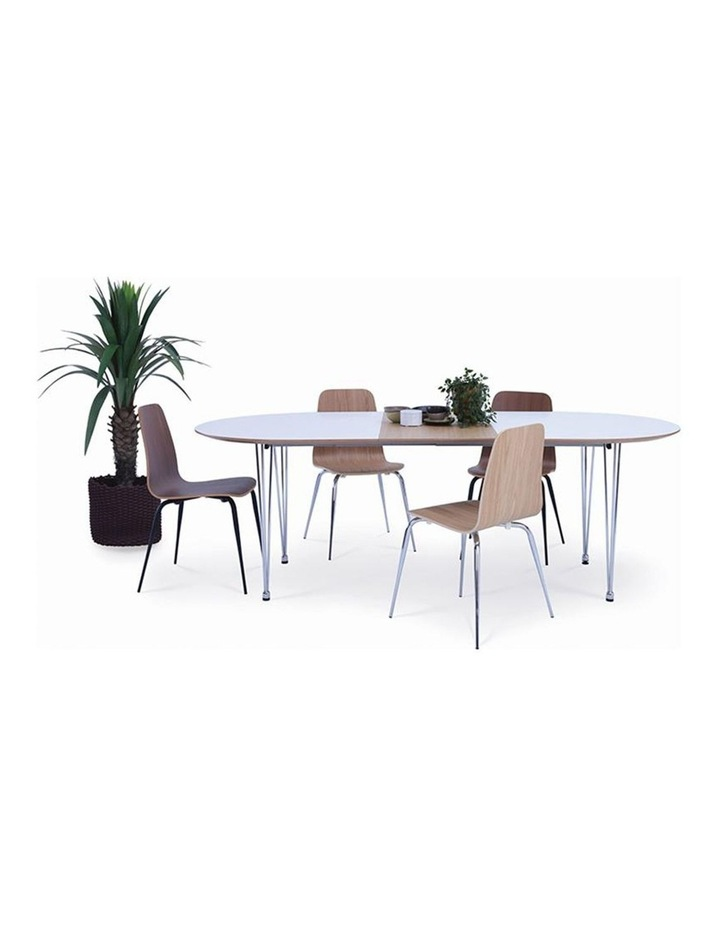 OMEO Dining Table Extendable - 170cm - White image 2