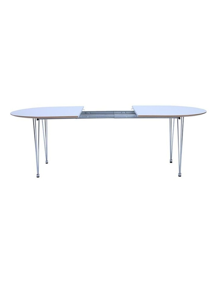OMEO Dining Table Extendable - 170cm - White image 5
