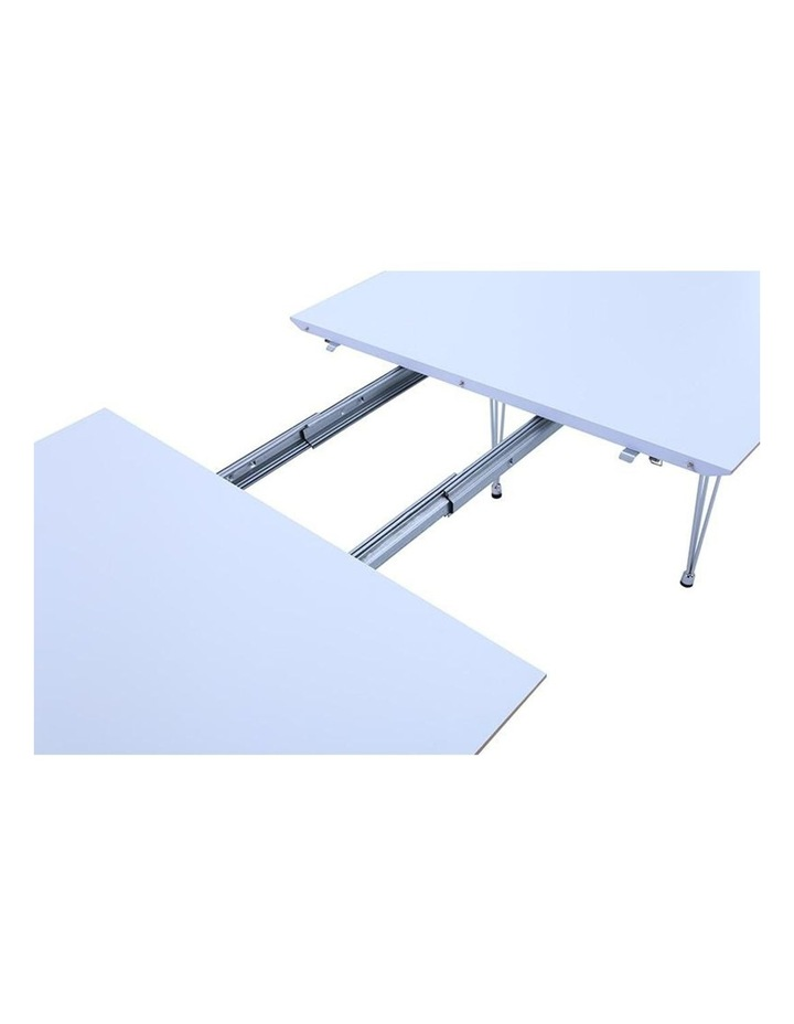 OMEO Dining Table Extendable - 170cm - White image 6