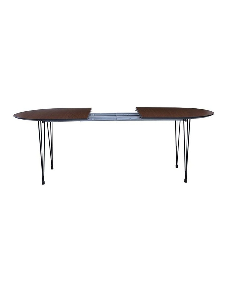 OMEO Dining Table Extendable - 170cm - Walnut image 2
