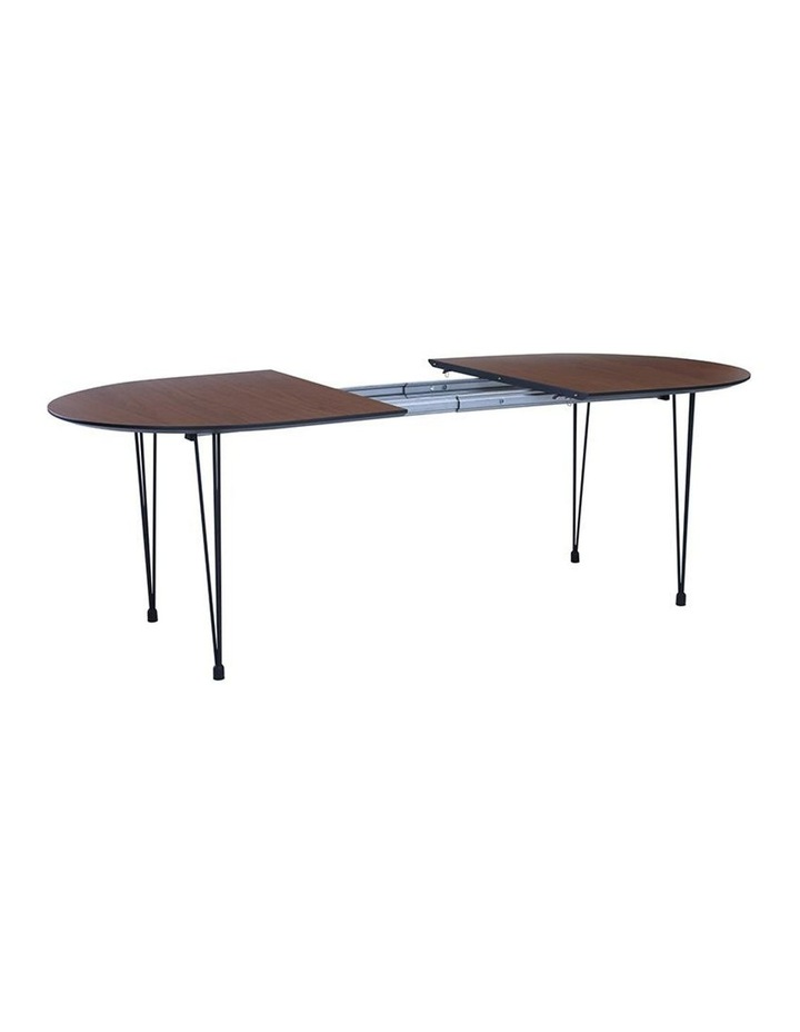 OMEO Dining Table Extendable - 170cm - Walnut image 3