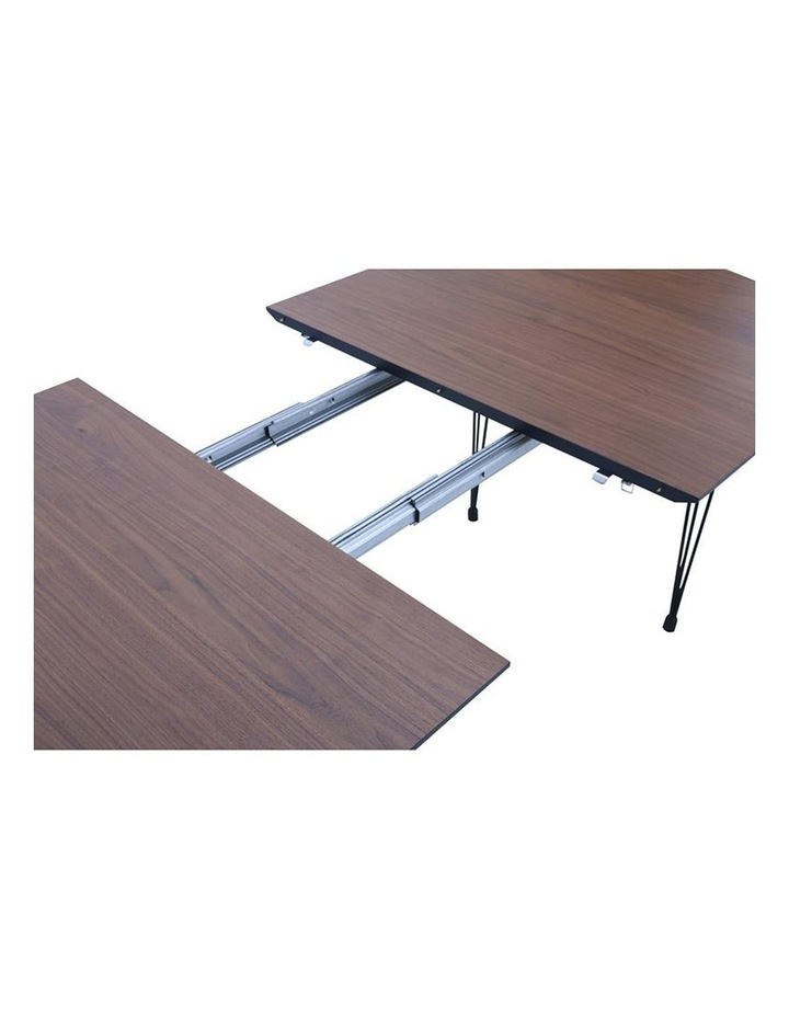 OMEO Dining Table Extendable - 170cm - Walnut image 4