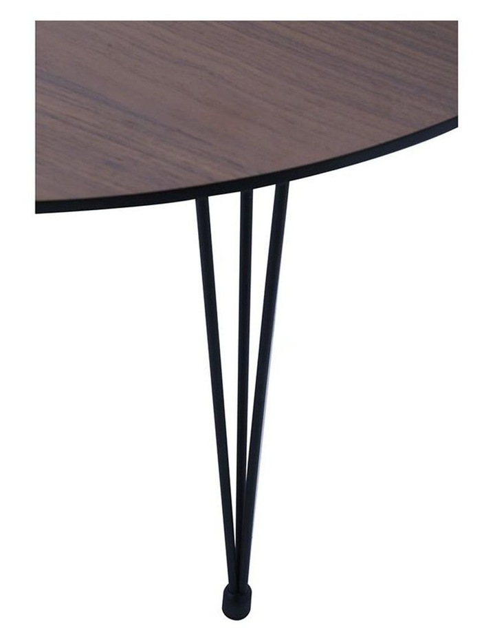 OMEO Dining Table Extendable - 170cm - Walnut image 5