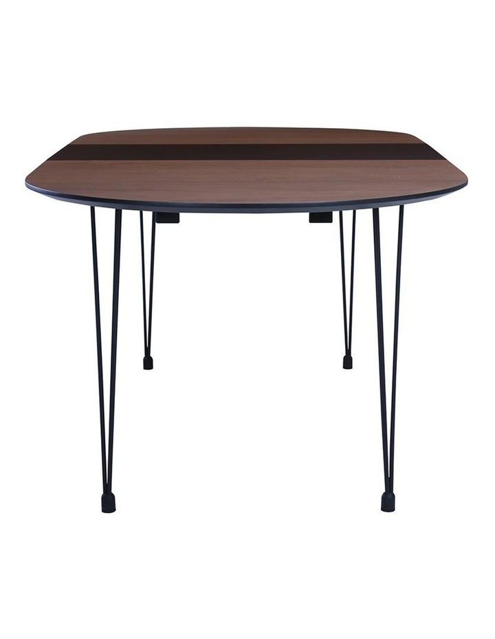 OMEO Dining Table Extendable - 170cm - Walnut image 7