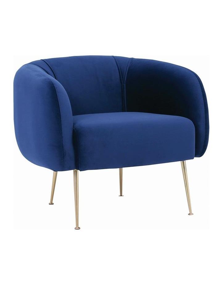 ALERO Single Seater Sofa - Midnight Blue image 1