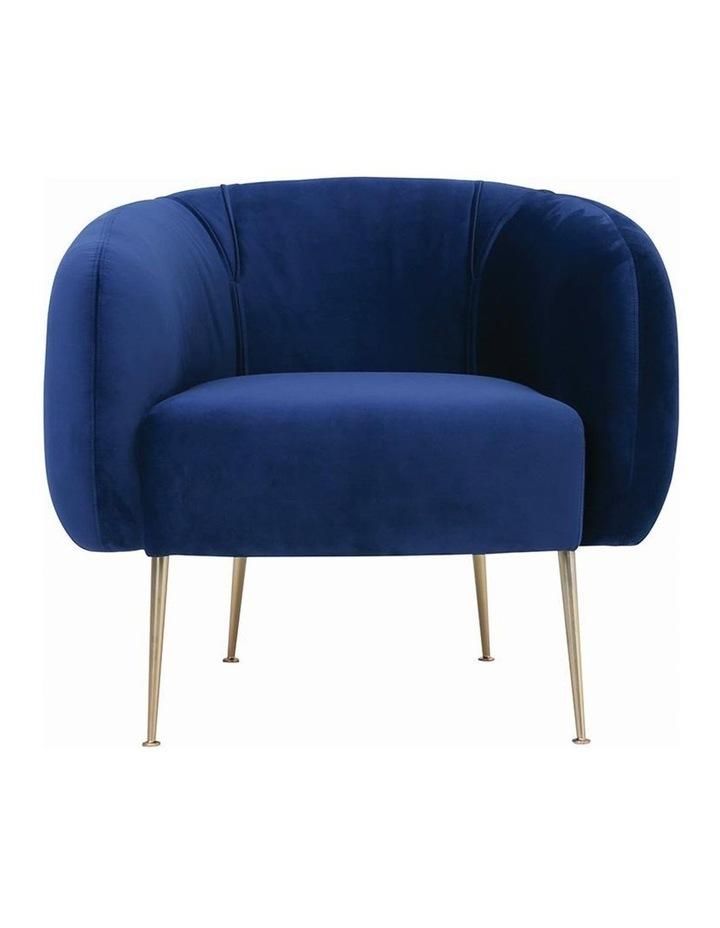 ALERO Single Seater Sofa - Midnight Blue image 2
