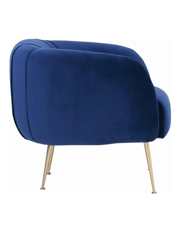 ALERO Single Seater Sofa - Midnight Blue image 3