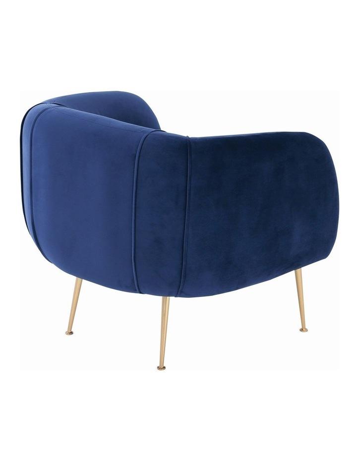 ALERO Single Seater Sofa - Midnight Blue image 4