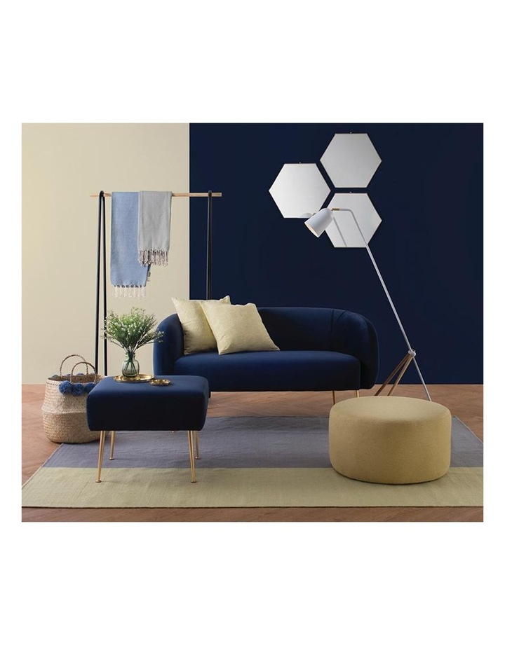 ALERO Single Seater Sofa - Midnight Blue image 5
