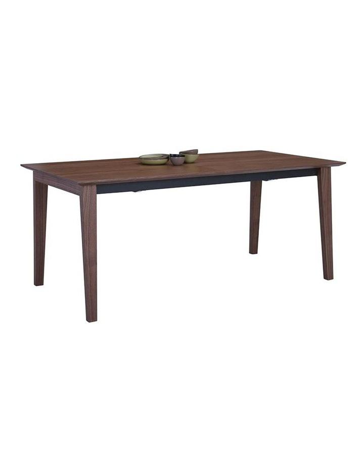 MANTON Dining Table Extendable - 180cm - Walnut image 5