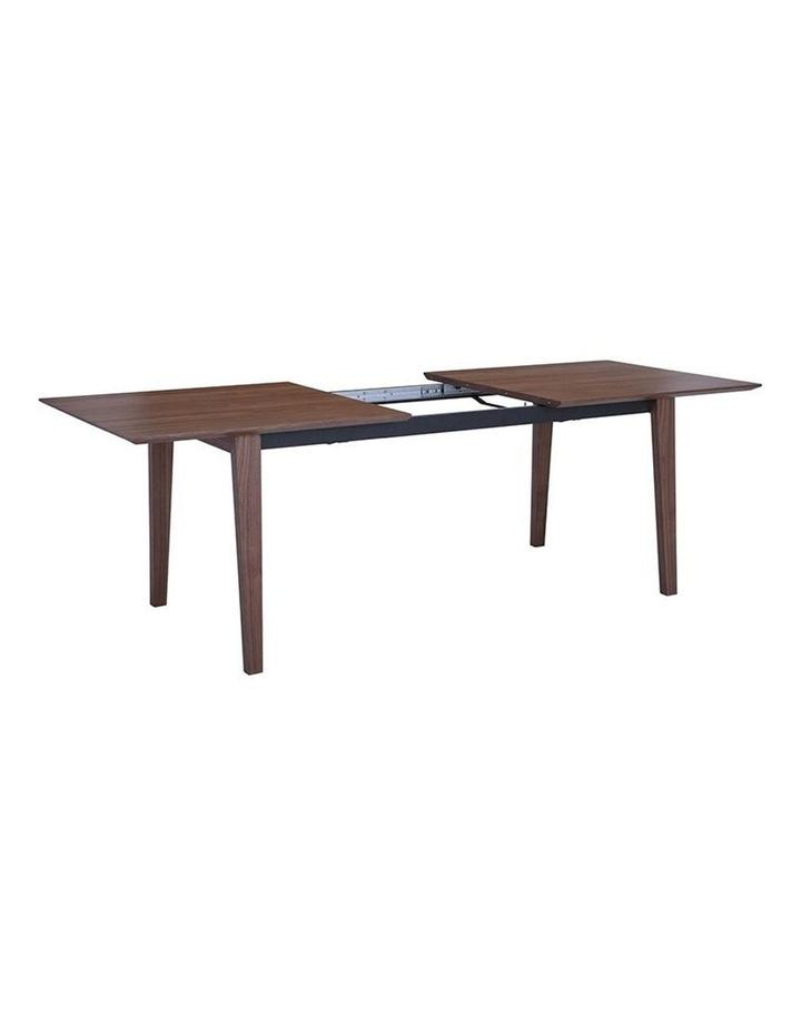 MANTON Dining Table Extendable - 180cm - Walnut image 6
