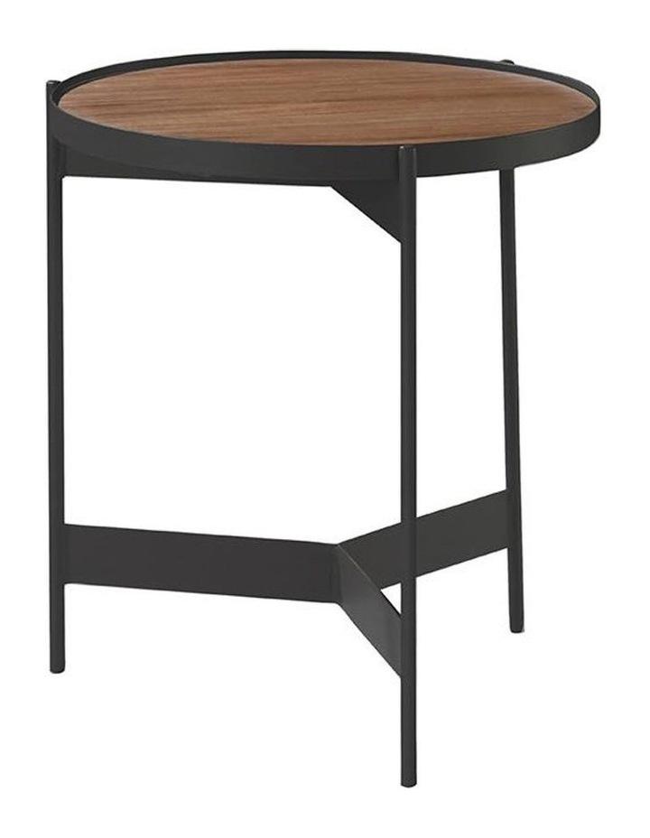 CHIARA Side Table - Rustic Brown image 1