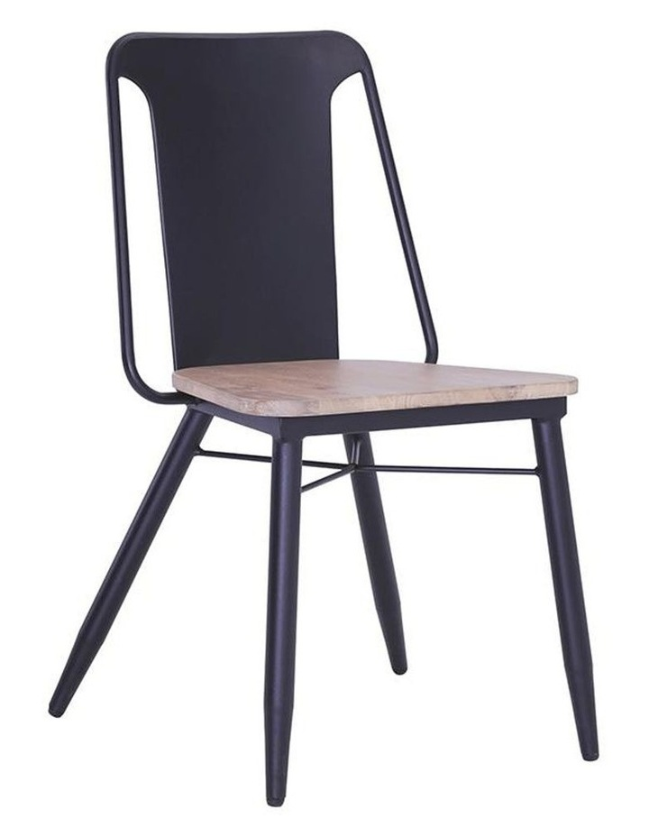 BINDER Dining Chair Solid Wood - Taupe image 1