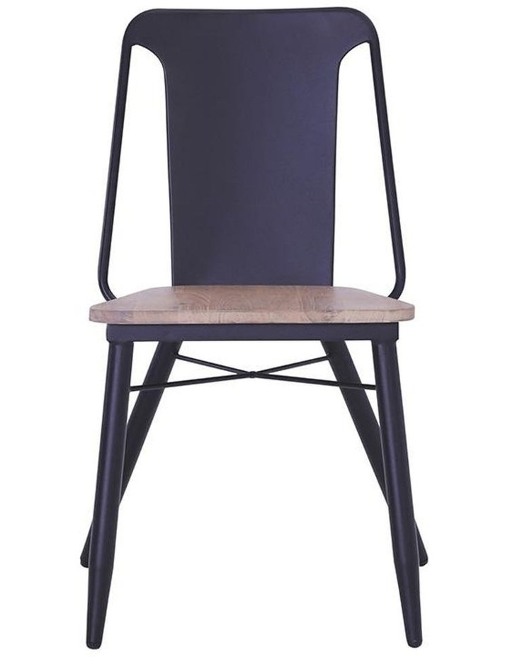 BINDER Dining Chair Solid Wood - Taupe image 2