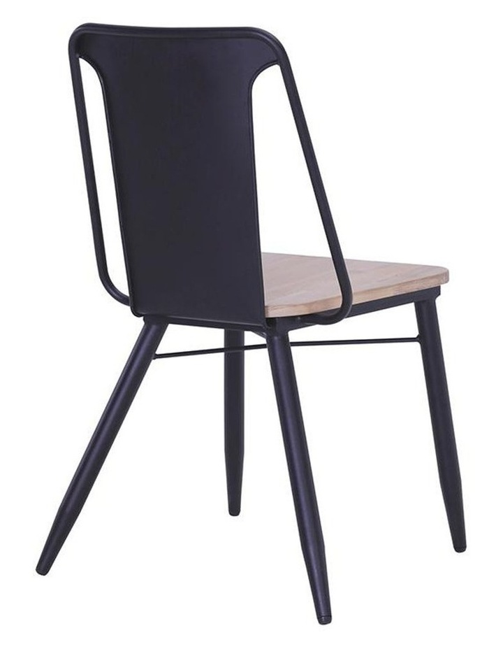 BINDER Dining Chair Solid Wood - Taupe image 3