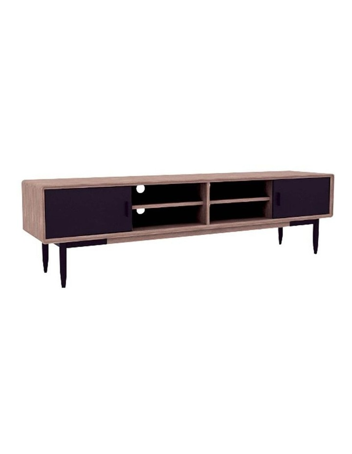 BINDER TV Entertainment Unit 2.0M Solid Wood - Taupe image 1