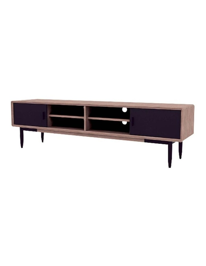BINDER TV Entertainment Unit 2.0M Solid Wood - Taupe image 2
