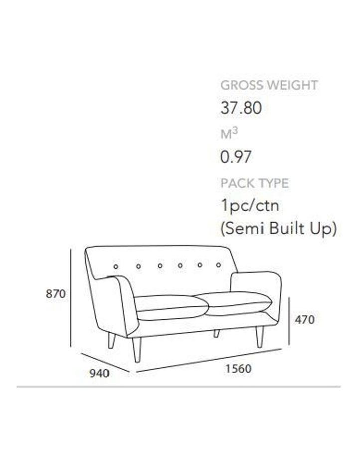 SPORTAGE Two Seater Sofa - Smoke Colour image 5