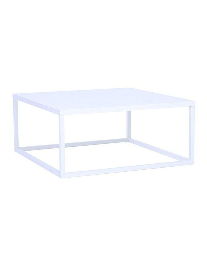 DAICHI Coffee Table 90cm - White image 1