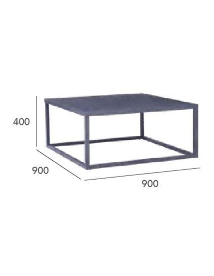 DAICHI Coffee Table 90cm - White image 5