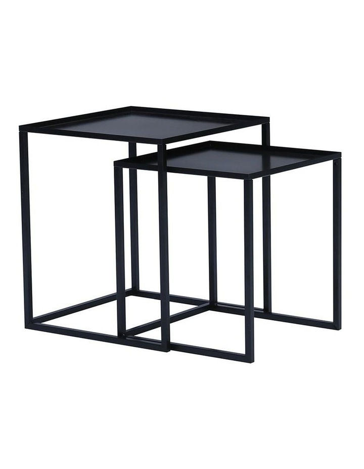 CARIAD Nest of 2 Tables - Black image 1