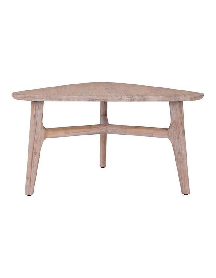 CORBIN Coffee Table Solid Wood - Havana Sandblast Colour image 1